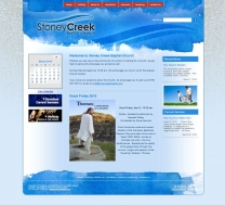 Stoney Creek Baptist launches new website!