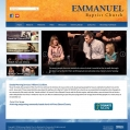 Website Design, Emmanuel Baptist